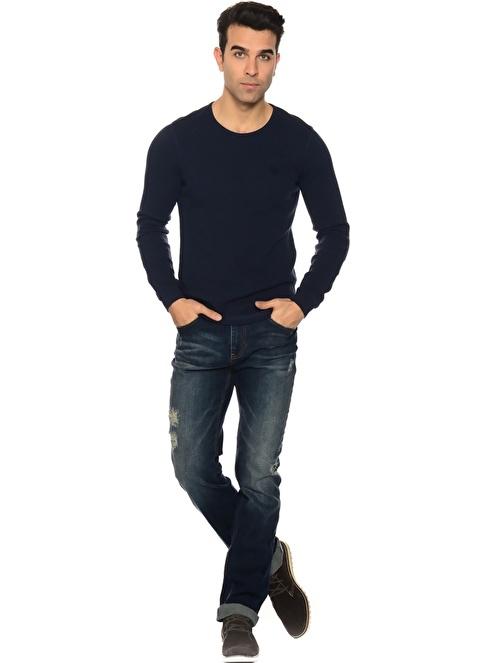 T-Box Pantolon İndigo